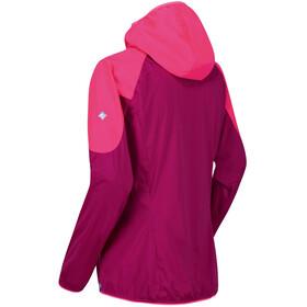 Regatta Tarvos III Veste Softshell Femme, dark cerise/neon pink